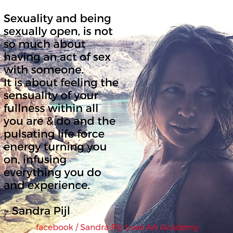 sexuality and being sexually open